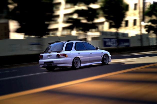 Subaru Impreza Sport Wagon WRX STI Version VI 99