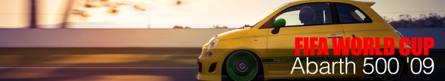 Abarth 500 '09 World Cup