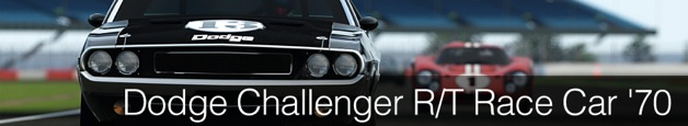 Dodge Challenger R/T Race Car '70