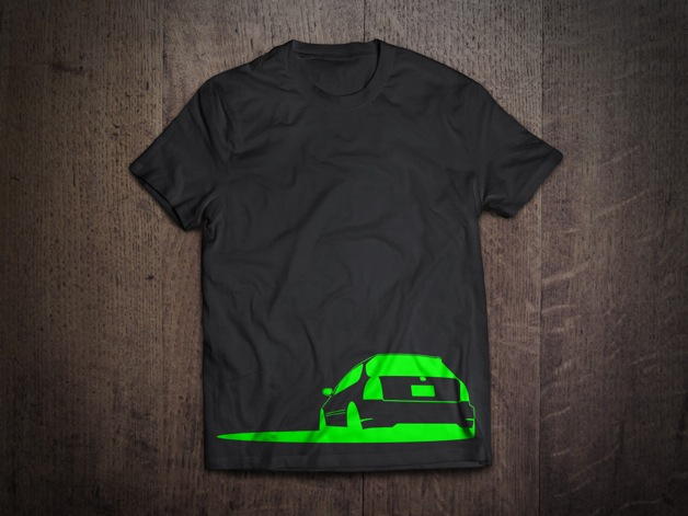 Honda Civic Neon Green